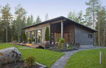 Zajímavý domeček - Malá inspirace z Finska - MammuttiHirsi