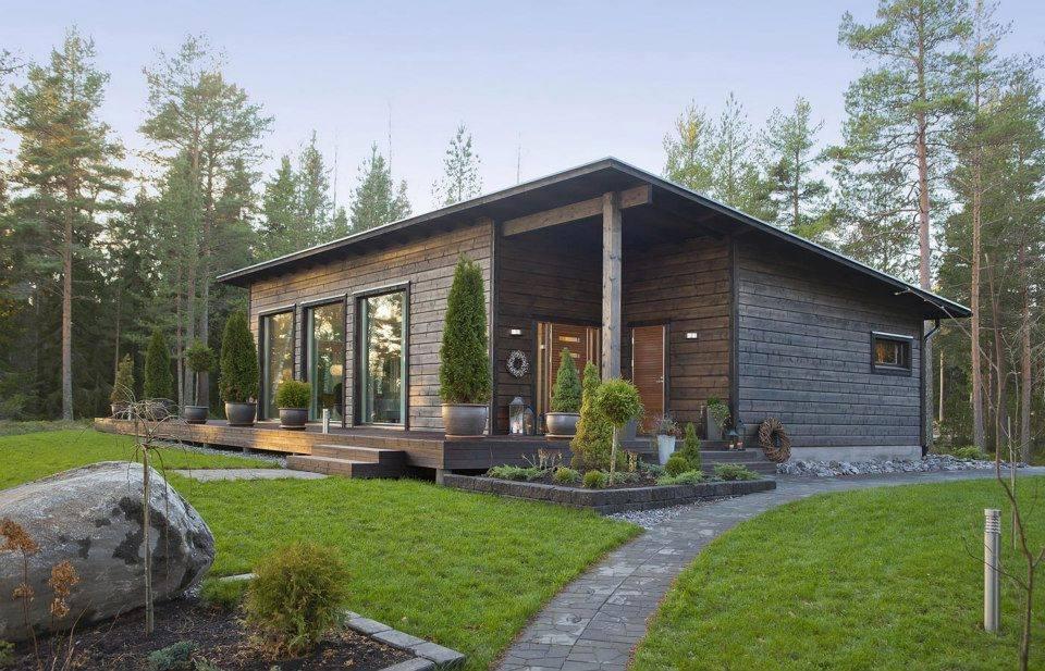 Pěkný byteček - Zajímavý domeček - Malá inspirace z Finska - MammuttiHirsi