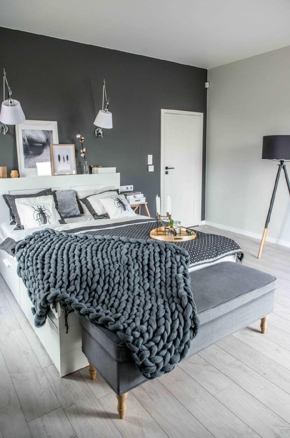 Pěkný byteček - ložnice by se mi líbila v jiných barvičkách