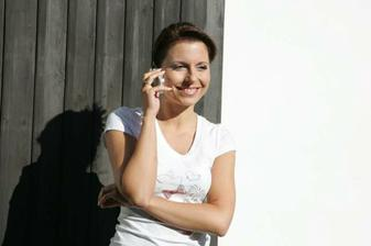 ranní telefonát s budoucím manželem :-)