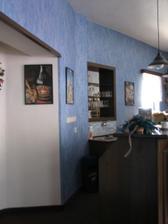 v salonku je bar, výborně v Silivii vaří, milý p. majitel i ostatní personál !
