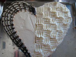 dort od babičky ženicha, zkouška zdobení
