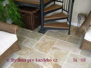 kamenná podlaha-barevnost
