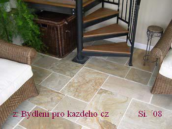 ::budoucnost::  stavební inspirace - kamenná podlaha-barevnost