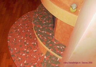 Mozaiku do bytu ano, ale vlastnoručně..