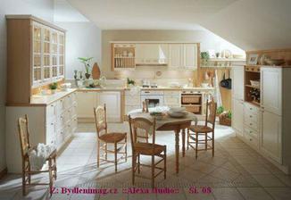 kuchyň - prostor pro setkání. dlažba (odstín a vzor!)