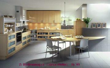 Nápaditý a moderní - a kobinace barev (šedá, béžová!)  - stejné  jako v současné kuchyni (pokračovat v tom tímto směrem)