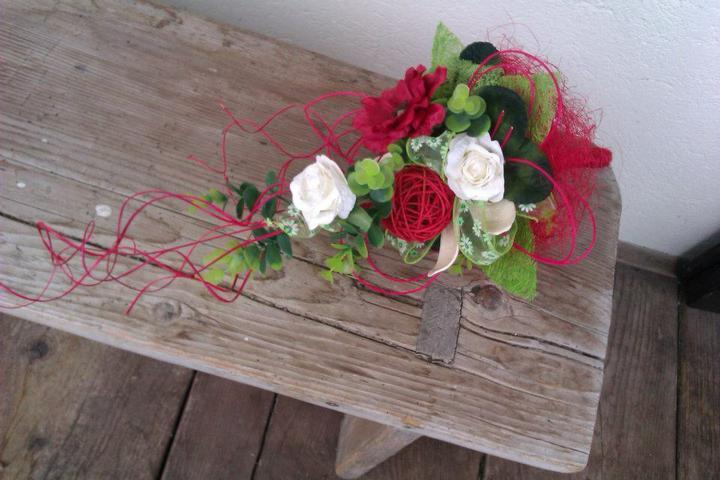 Moje hoby-moja láska *aranžovanie* - kytička do vázy