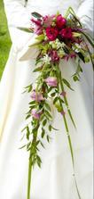 moja kytička :-) svadobná