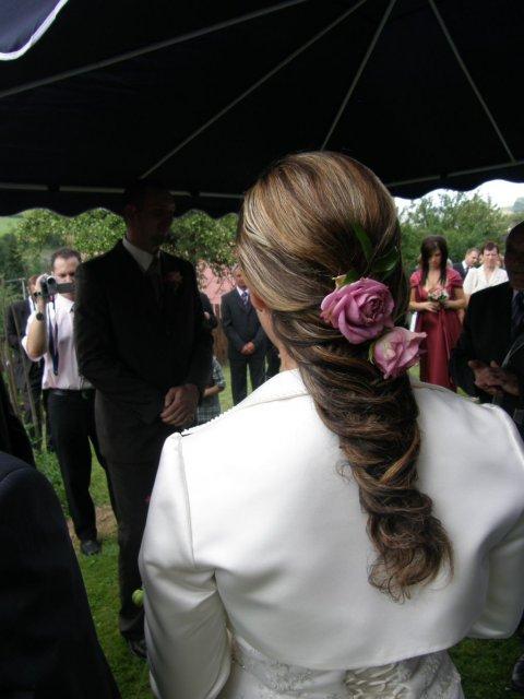 Janet & Vladi - moj svadobný účes :o)