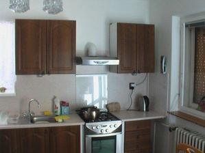 nová kuchyň 2. část