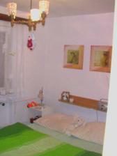 nová ložnice, bohužel fotku před nemám :-( ale nová je mnohoem lepšíííí