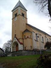kostel sv. Jana - tak tady bude obřad