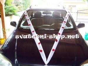 1: výzdoba auta (auto bude červené)