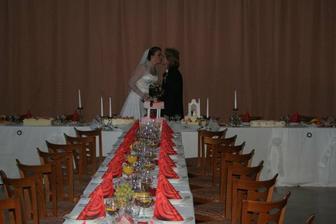 svatební tabule... povedla se jim podle mých představ