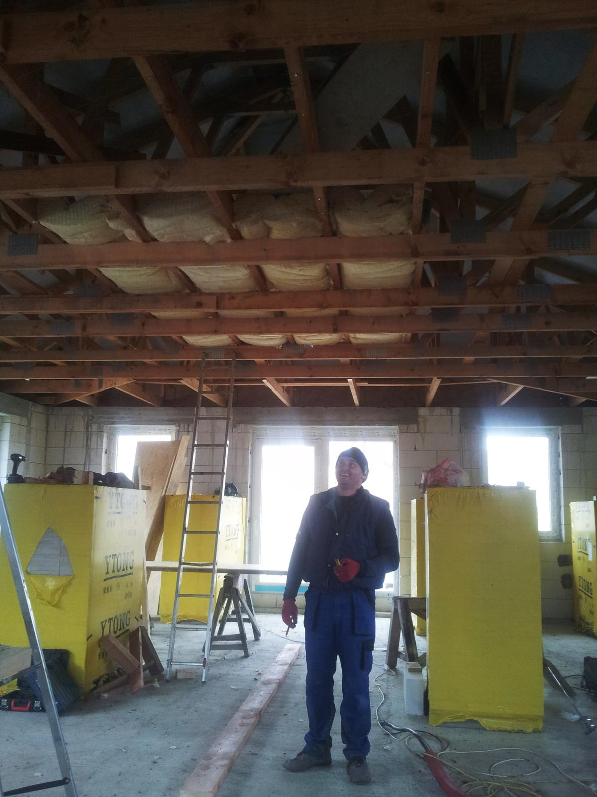 Náš domčok - Izolujeme strop