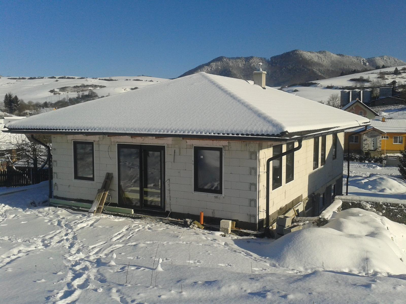 Náš domčok - domcekova druha zima