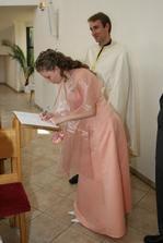 Mne bola svedkom sestrička Slavka.