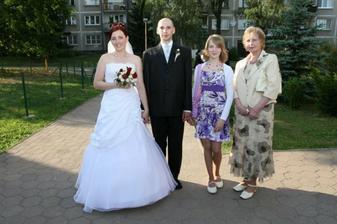 Maťkova mamka a neter Martinka.