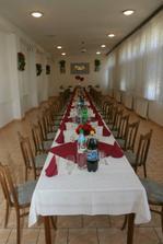 Svadobná sála.
