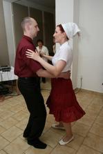 Už tancujem s mojím milovaním.