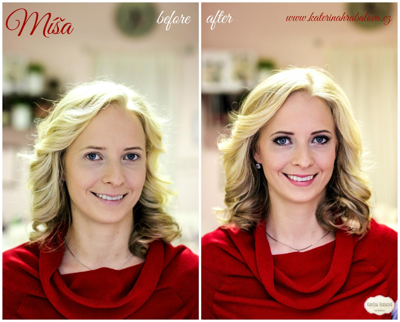 Proměny 2014 - Make-up + foto: www.katerinahrabalova.cz