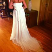 Luxusné svadobné šaty č. 36-38 , 36