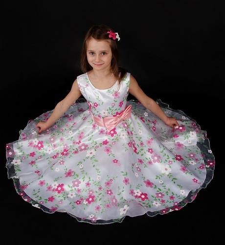 Slavnostní šaty Bela vel. 98/104 - Obrázek č. 1