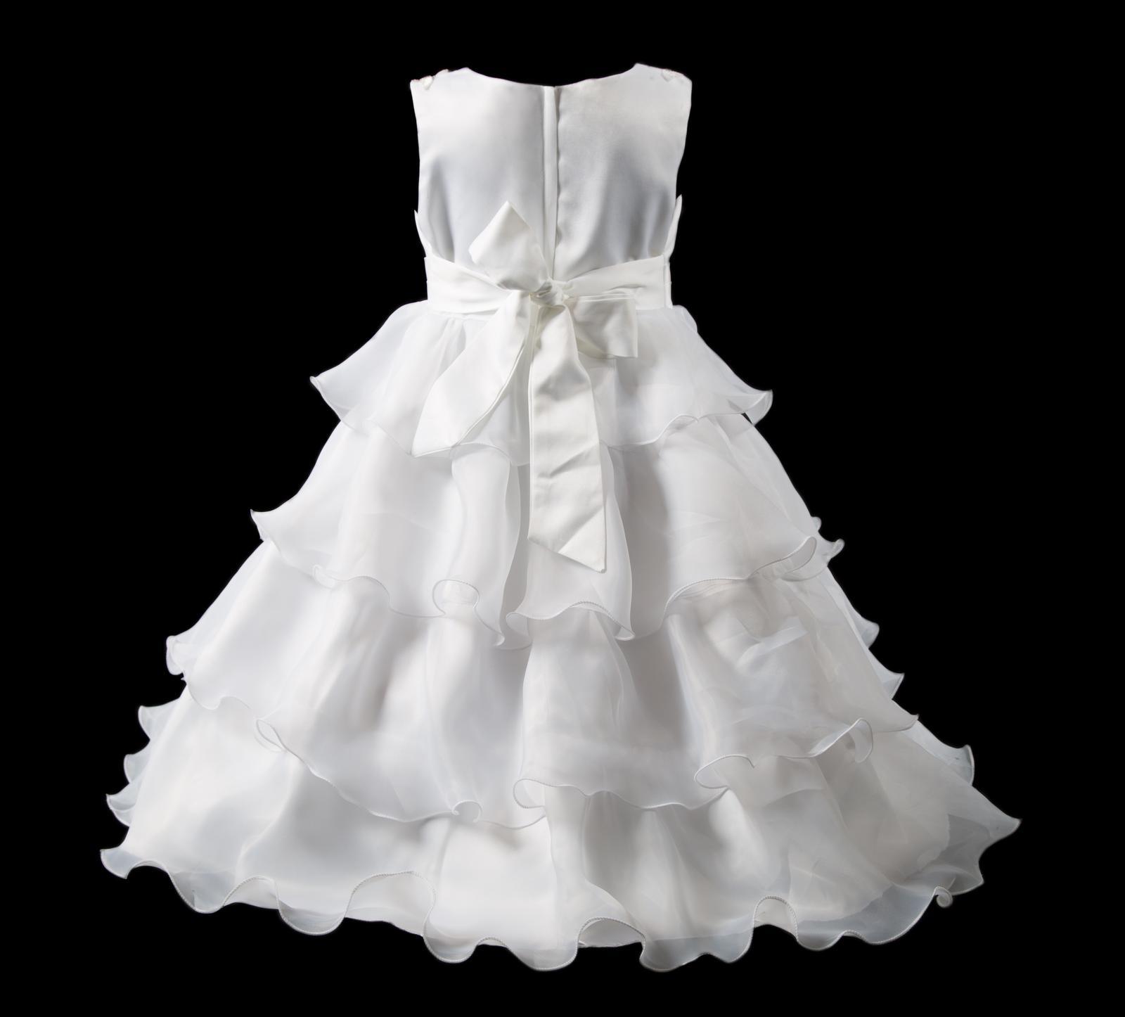 Šaty pro družičky-Belinda vel.  98/104 - Obrázek č. 3