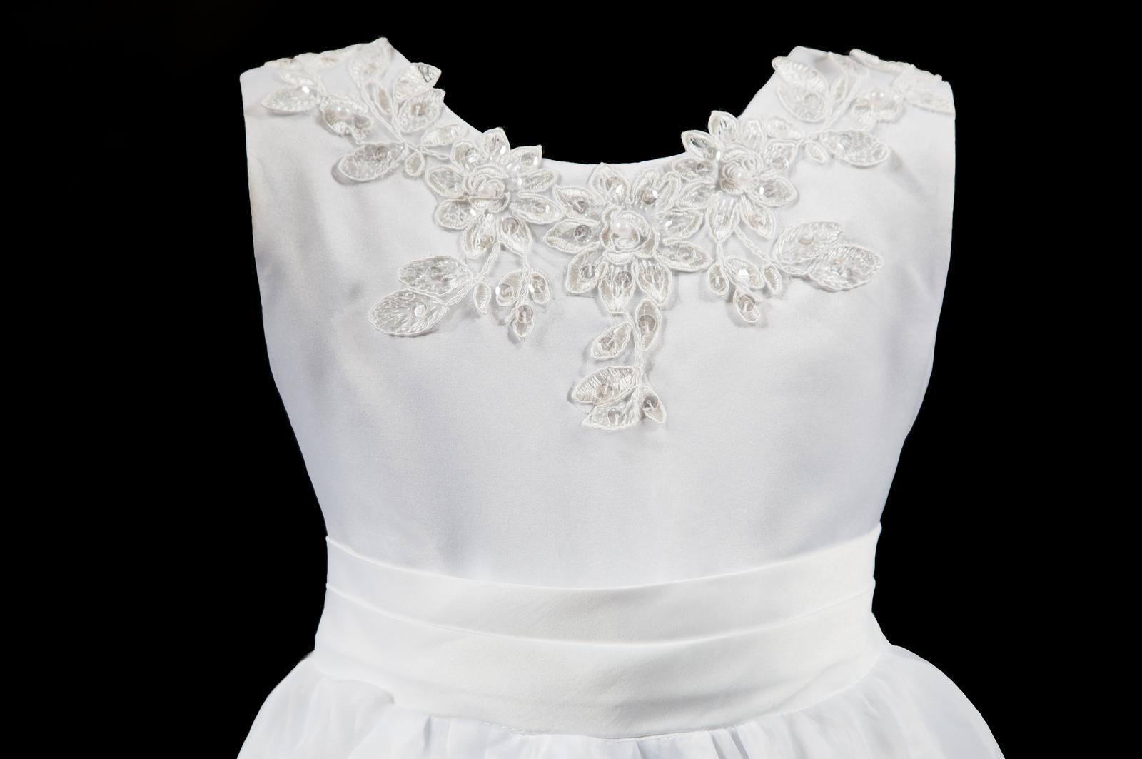 Šaty pro družičky-Belinda vel.  98/104 - Obrázek č. 4
