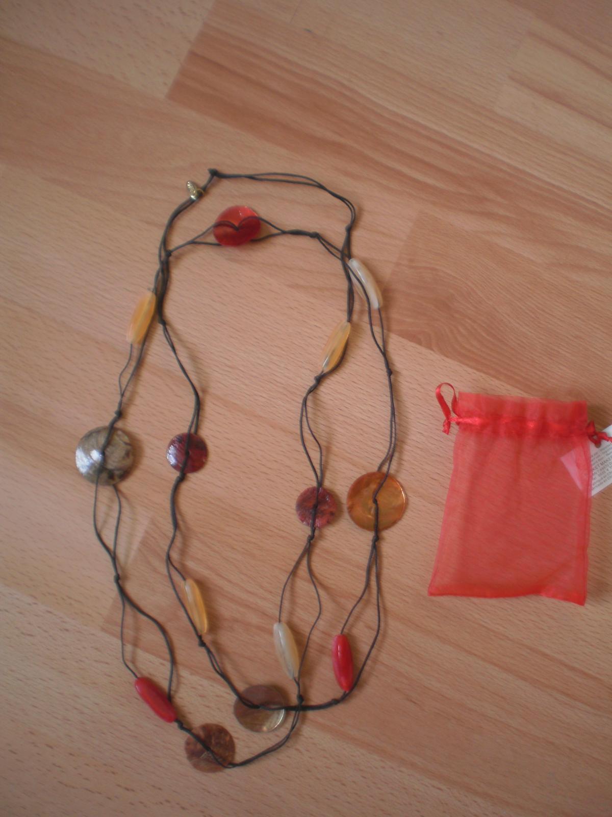 Prírodný náhrdelník - Obrázok č. 1