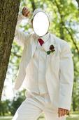 Biely svadobný oblek, 42