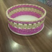 Ružový košík s gorálkami,