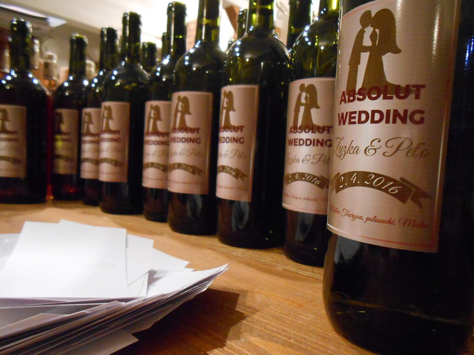 vinomaravilla - Svadobné víno pre zahraničných svadobných hostí