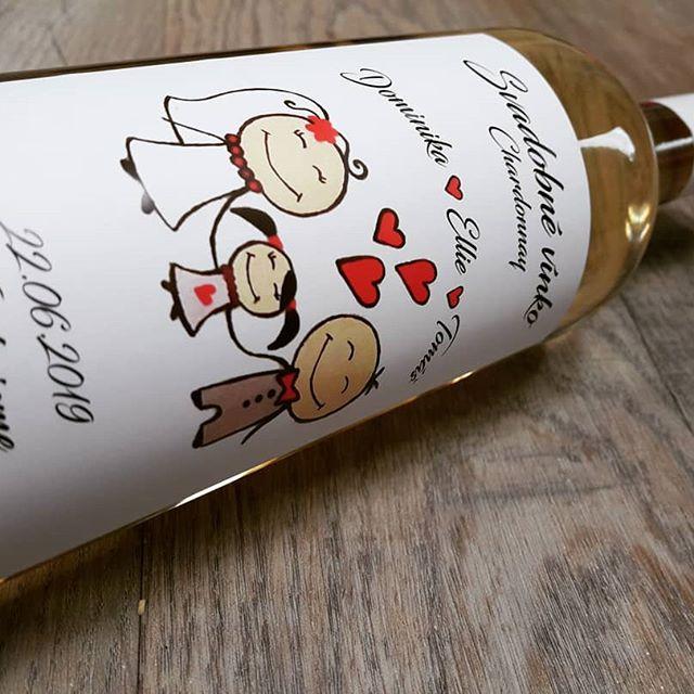 vinomaravilla - Svadobné vínko D+T_www.svadobnevina.sk