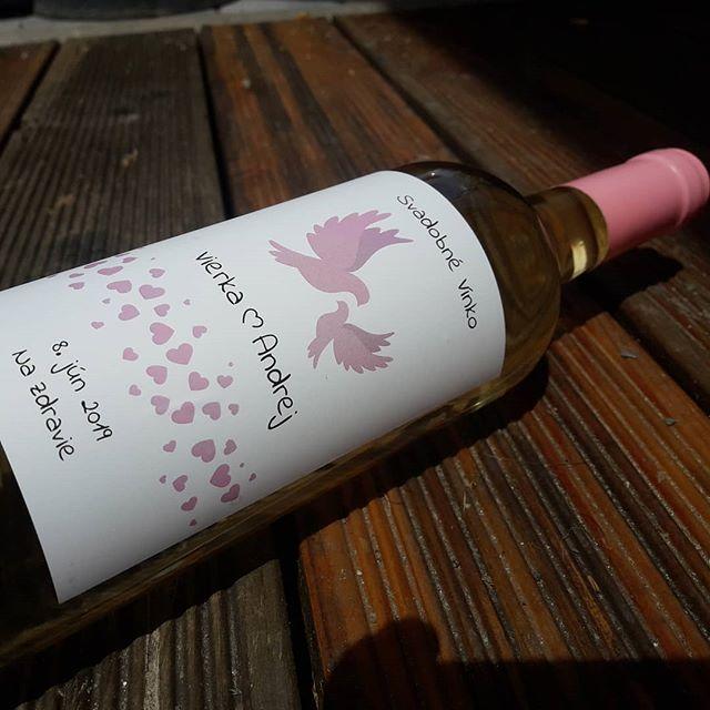 vinomaravilla - Svadobné vínko V+A_www.svadobnevina.sk