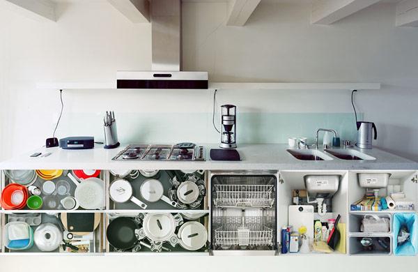Kuchyne - inspiracie - zaujimavy pohlad na kuchynu :-)