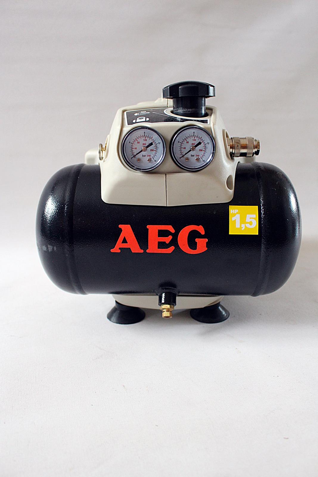 Přenosný kompresor AEG 8 bar - Obrázek č. 1