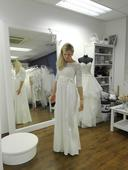 """Svadobné šaty """"Tiffany Rose"""" pre tehotné, 38"""