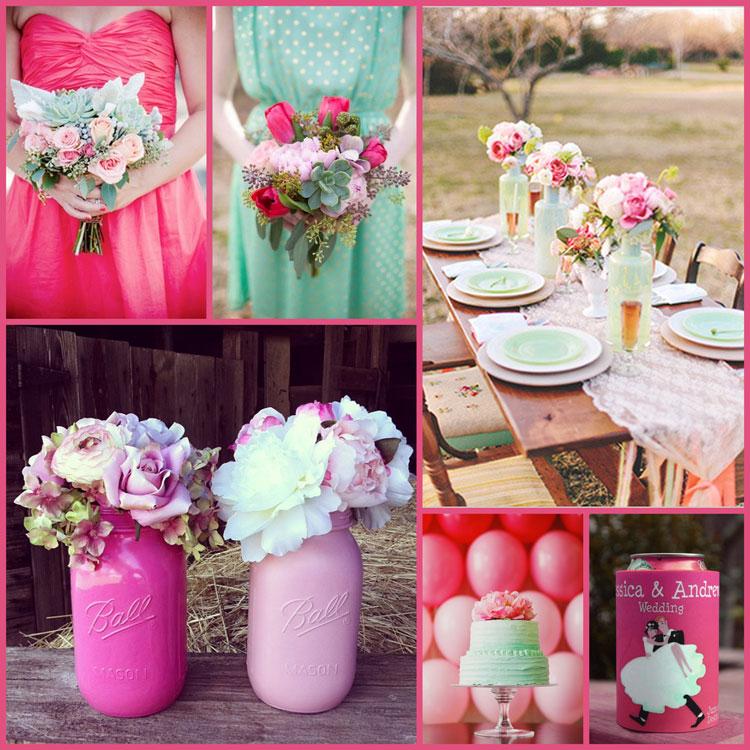 Pink-mint-black wedding ;) - Obrázok č. 81