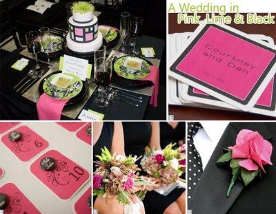 Pink-mint-black wedding ;) - Obrázok č. 85