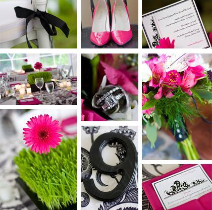 Pink-mint-black wedding ;) - Obrázok č. 96