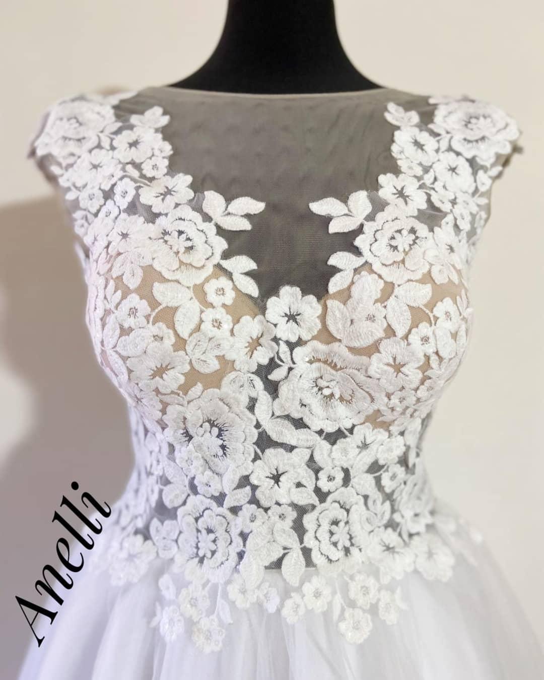 Svadobné pre Niku - Hotové šaty