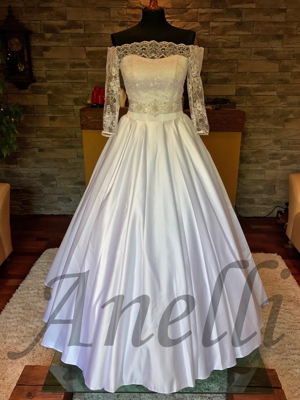 Svadobné šaty- IHNEĎ k ODBERU   - Obrázok č. 1