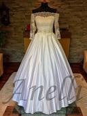 Svadobné šaty- IHNEĎ k ODBERU  , 38