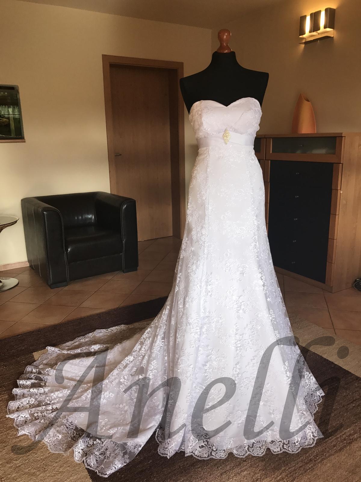 Svadobné šaty - IHNEĎ K ODBERU - Obrázok č. 1