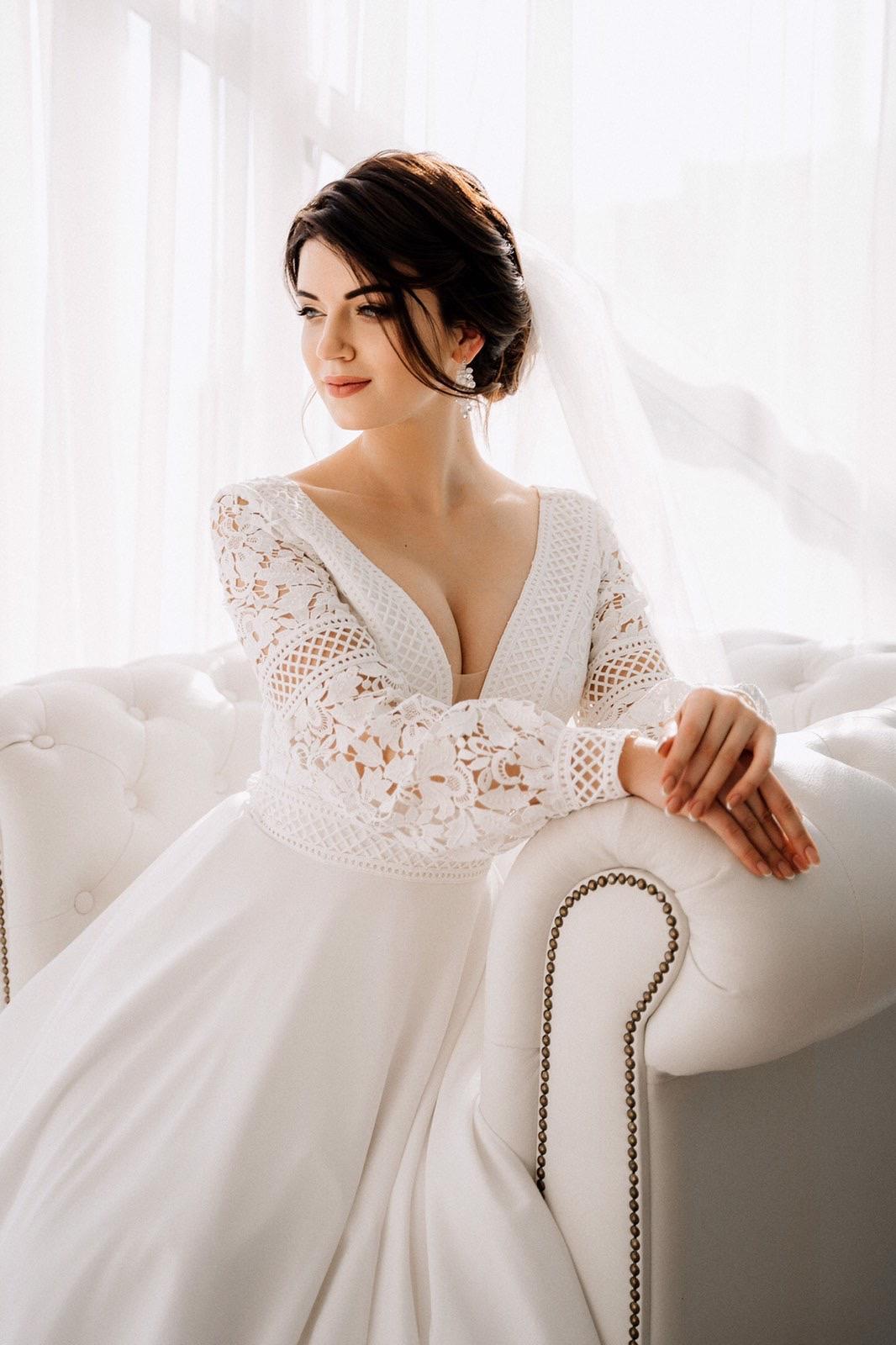 Svadobné šaty - IHNEĎ K ODBERU - Obrázok č. 4