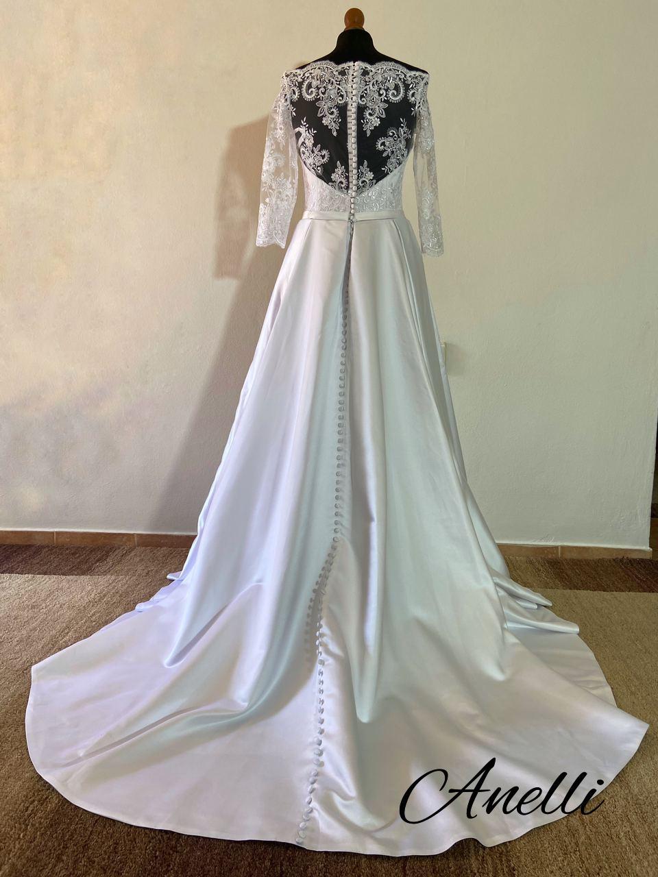 Svadobné šaty - IHNEĎ K ODBERU - Obrázok č. 3