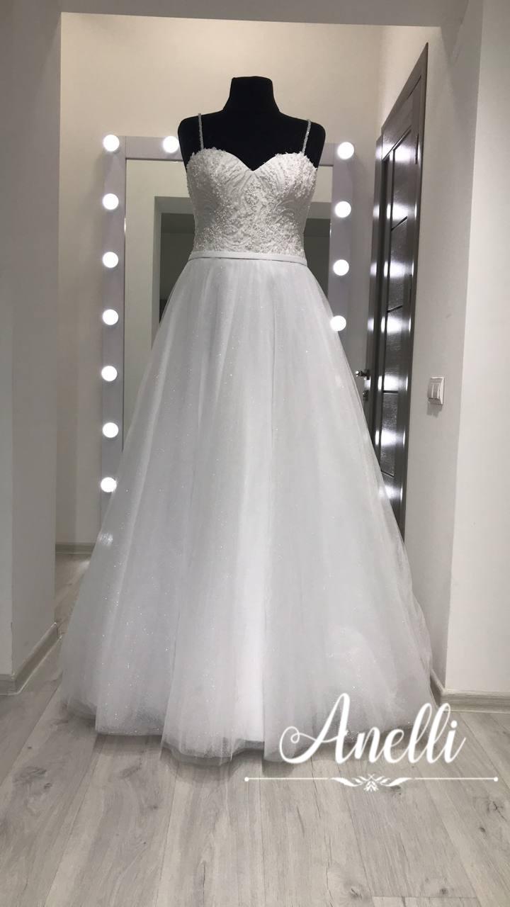 Šaty pre Moniku - Hotový model