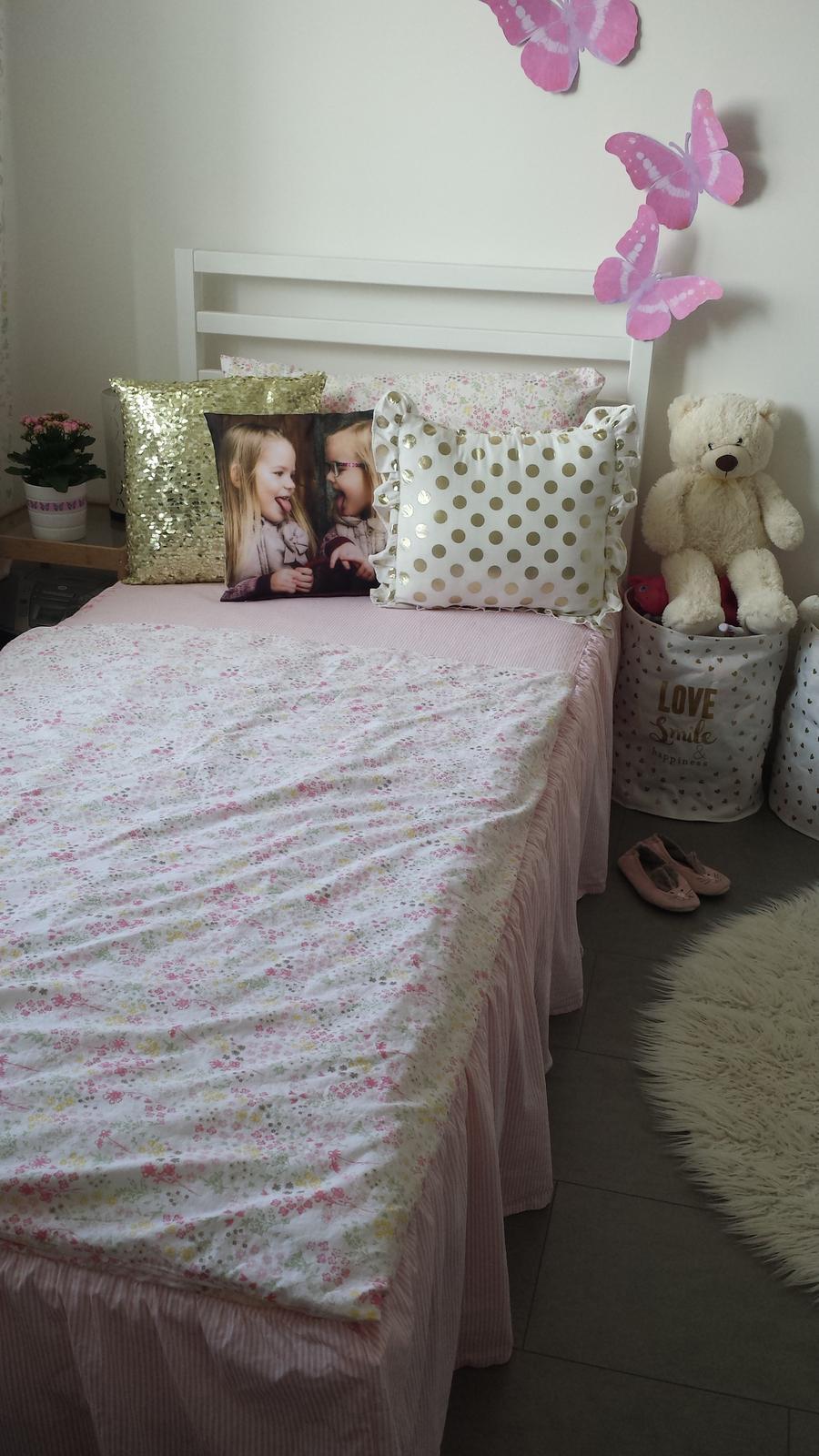 Náš šedý sen :) - Pokoj naší 6ti lete holčičky :-)
